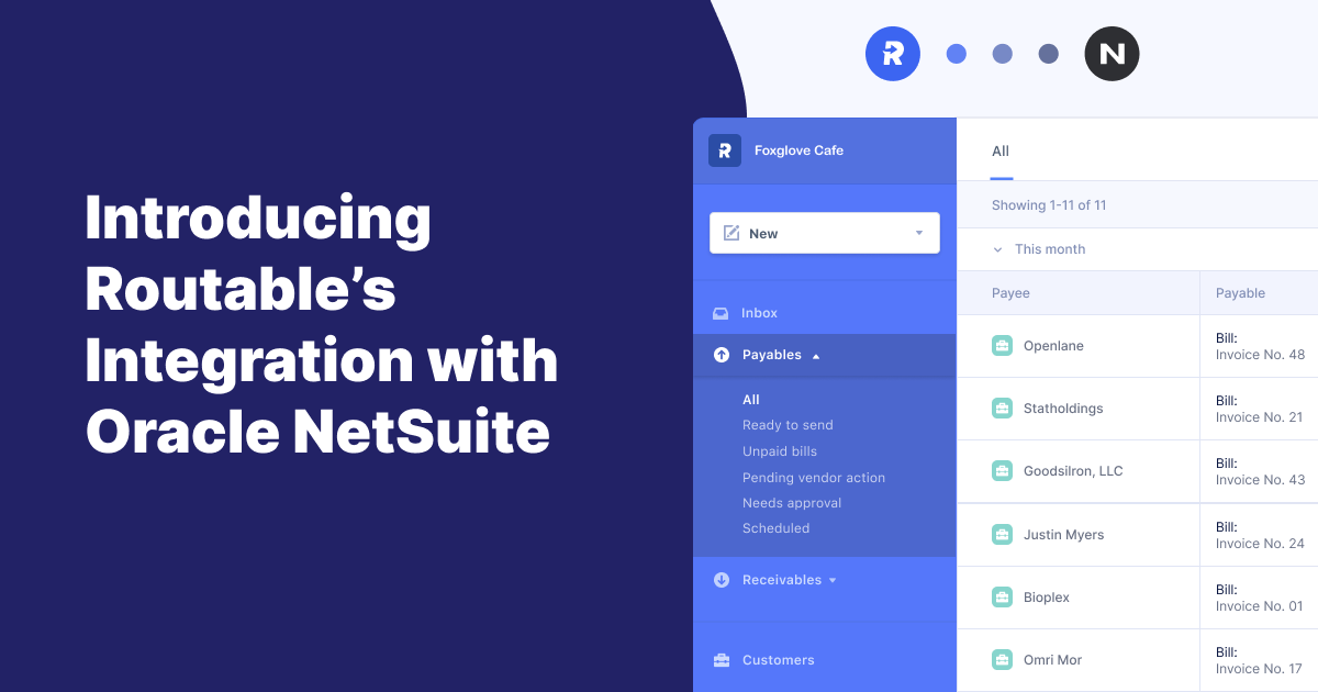 Introducing our integration with Oracle NetSuite