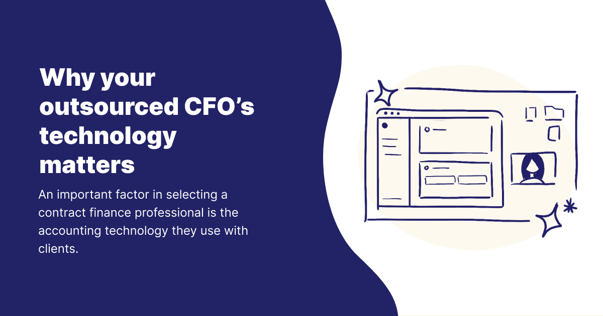 Why your outsourced CFO's technology matters